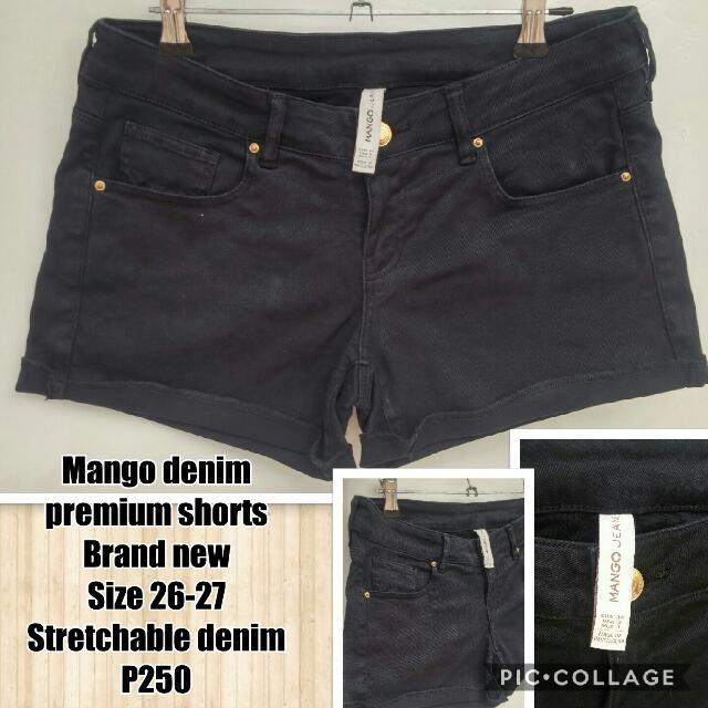 Mango Premium Denim Shorts
