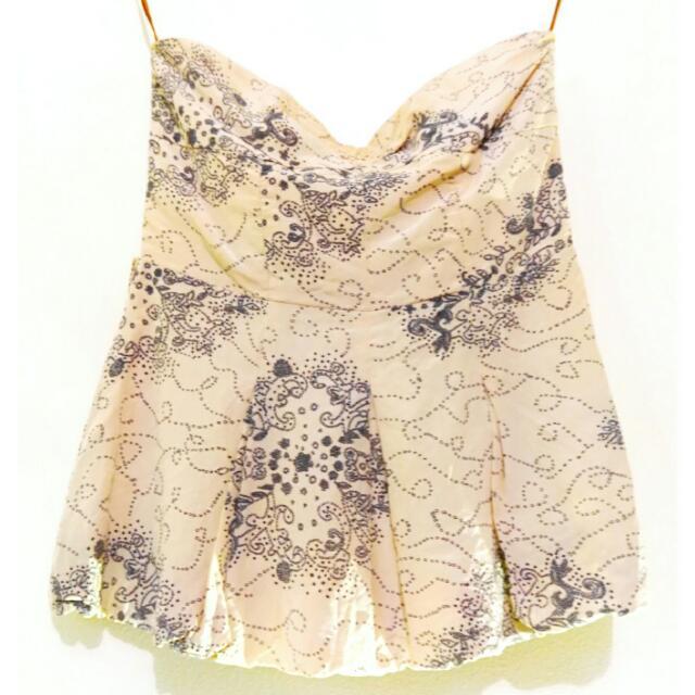 Manning Cartell Silk Bustier    Size 8