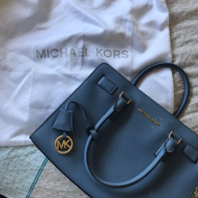 Michael Kors Powder Blue Handbag
