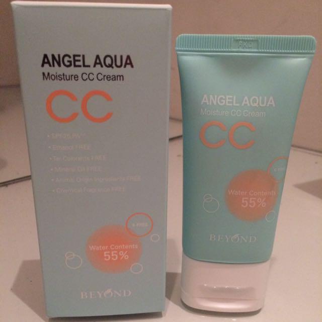 NEW: Beyond Angel Aqua Moisture CC Cream