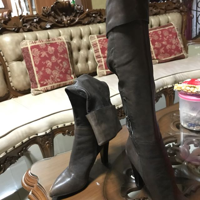 Nine west Boots Leather (brown)