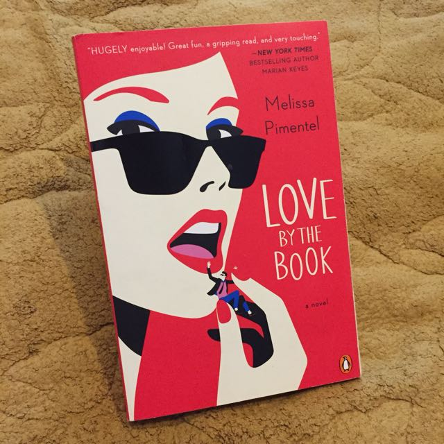 novel chicklit import preloved/second/bekas love by the book
