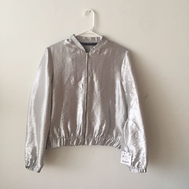 NWT Zara Bomber Jacket