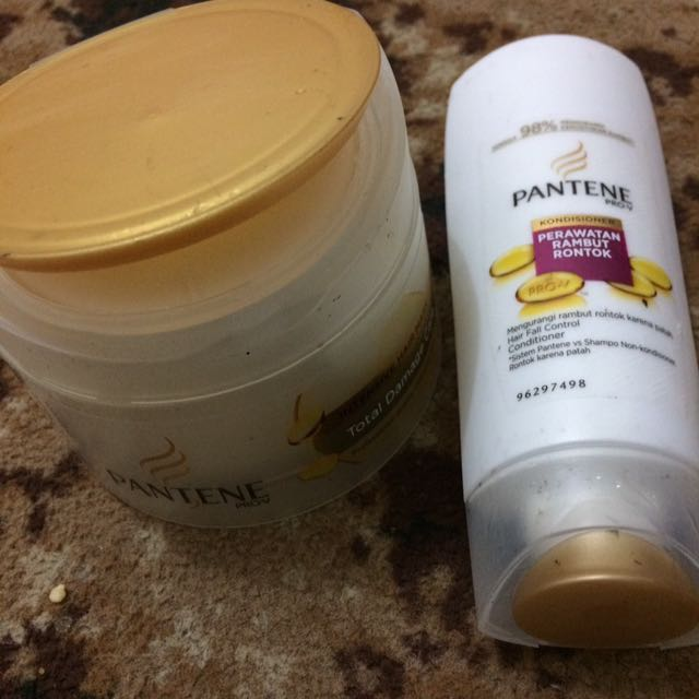 Pantene Intensive Hair Mask & Pantene Hair Fall Control Conditioner