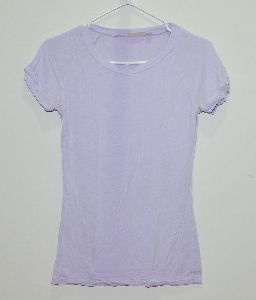 Pastel Purple Basic T-Shirt