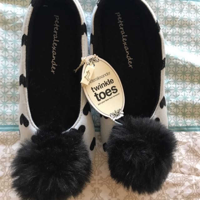 Peter Alexander Slippers Size 7
