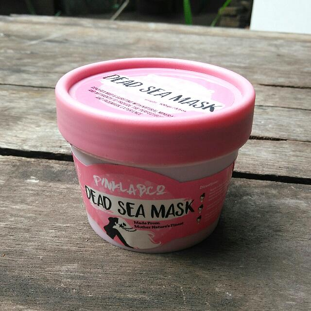 Pinklab.Co Dead Sea Mud Mask 100gr (FREE SHIPPING JABODETABEK)