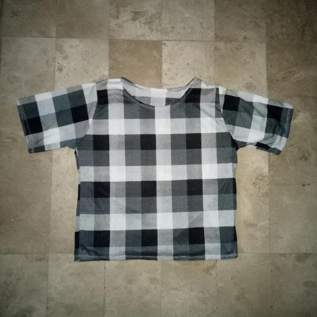 Plain checkered Shirt