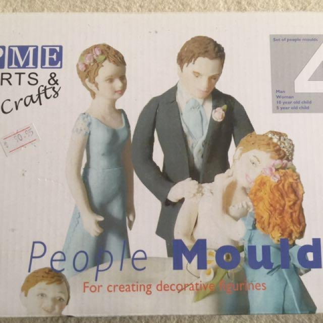 PME People Moulds Set