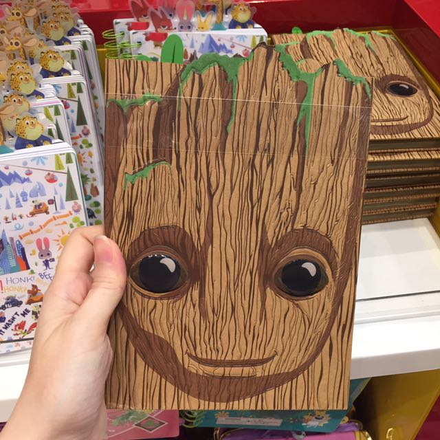 Po Disney Guardians Of Galaxy 2 Baby Groot Notebook Books