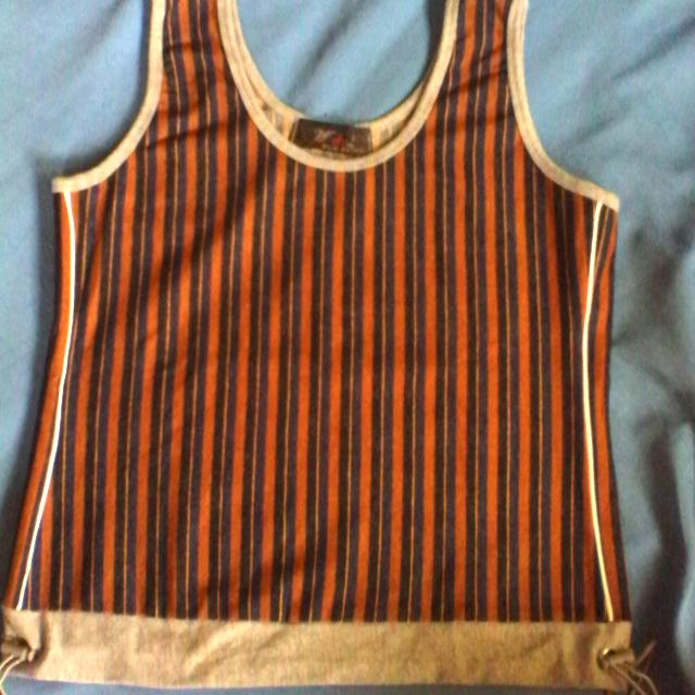 Preloved Sleeveless Blouse