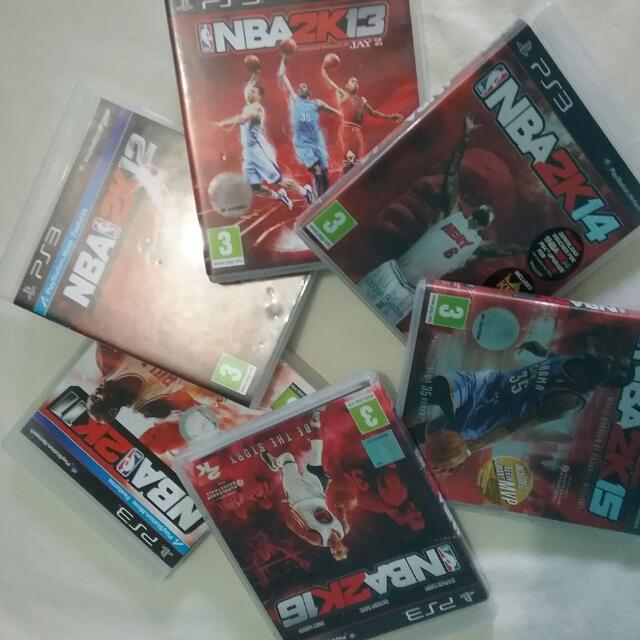 Ps3 Games NBA Collections