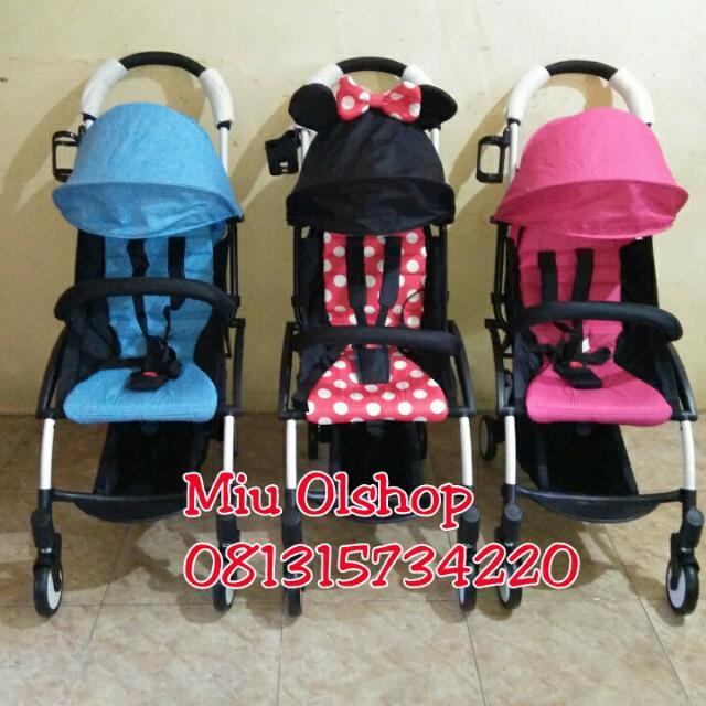 Ready Stok Stroller Traveling Murah
