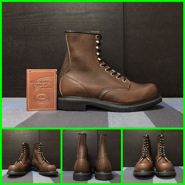 Red Wing Black Sole 953, Men's Fashion