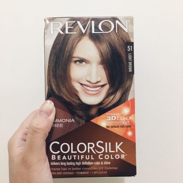 Revlon Colorsilk Hair Dye (51 Light Brown)