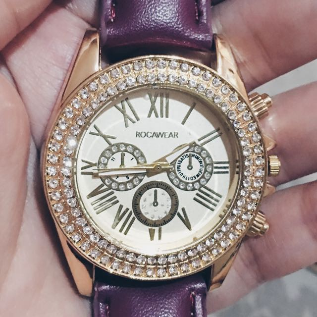 Rocawear Watch Womens Fashion Watches On Carousell
