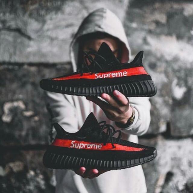 511d101c5 Sepatu Adidas Yeezy Boost 350 X Supreme
