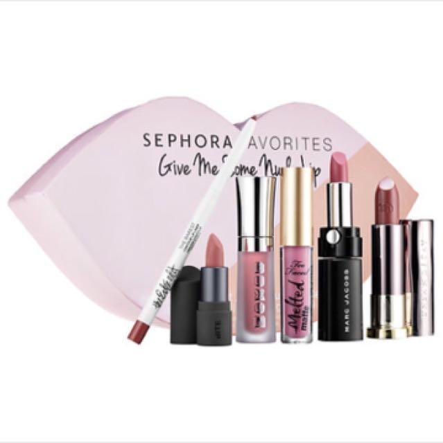 Sephora favorites 唇膏 口紅 唇蜜