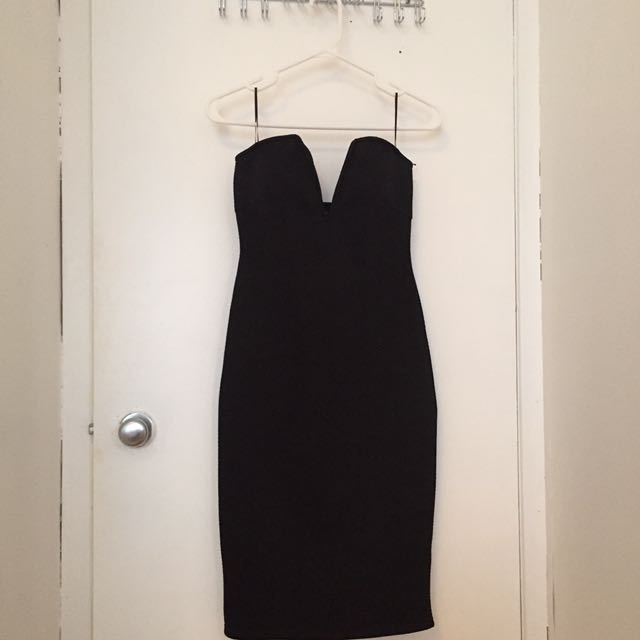 Sirens Black Bodycon Dress