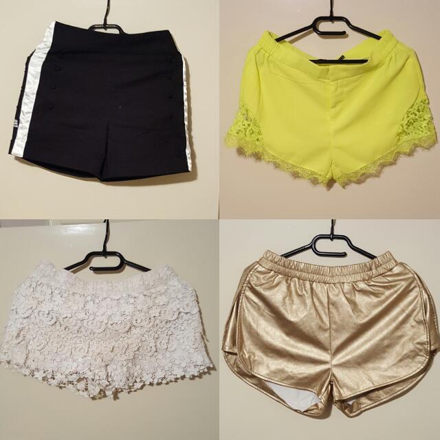 Size 8 shorts $5 each