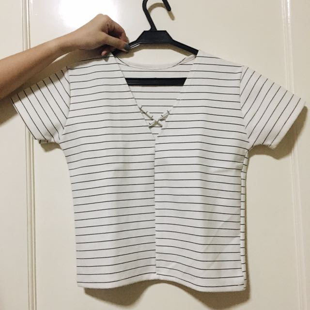 Stripes White Top