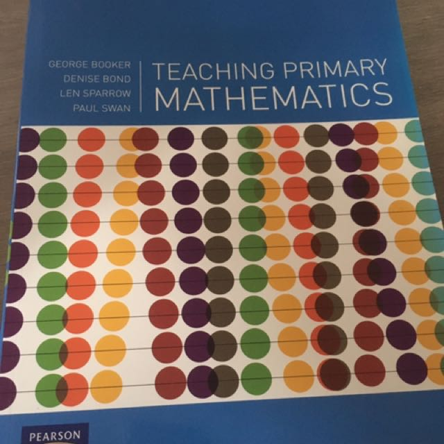 Teaching Primary Mathematics by Booker, Bond, Sparrow and Swan