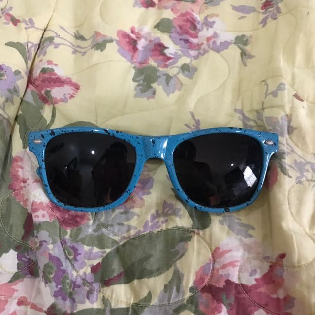 Teal Blue Sunglasses