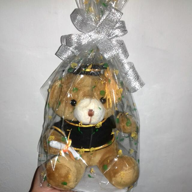 Teddy Wear Toga For Wisuda Gift