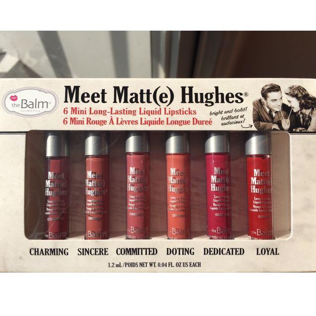 The Balm Meet Matt(e) Hughes