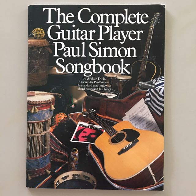 The Complete Guitar Player Paul Simon Songbook, Books & Stationery ...