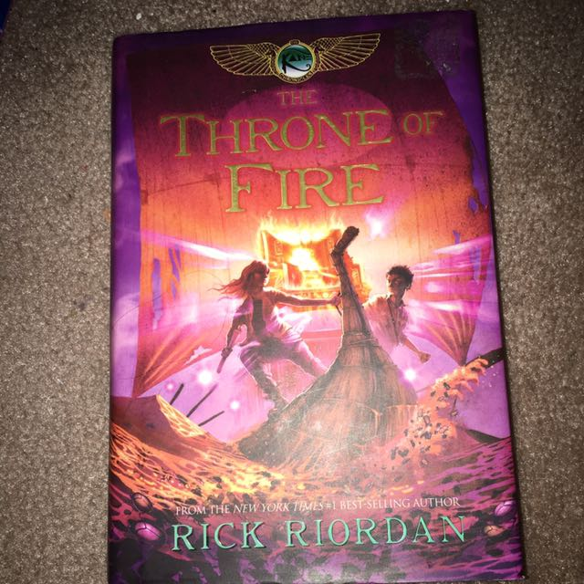 The Throne Of Fire Hard Copy