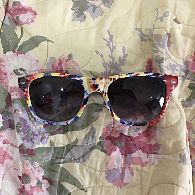 Tie Dye Patterned Sunglasses