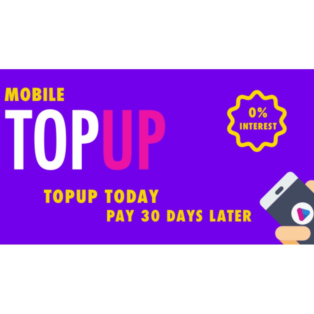 Singtel/Starhub/M1 Mobile Top Up