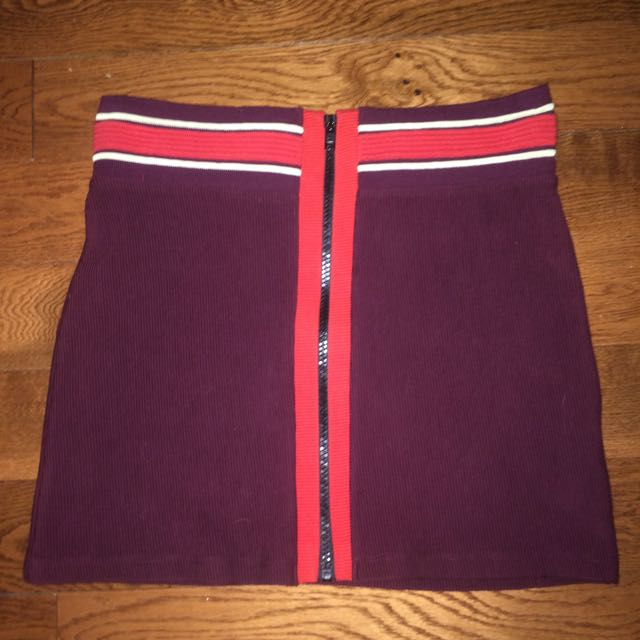 TopShop 70's Inspired Mini Skirt