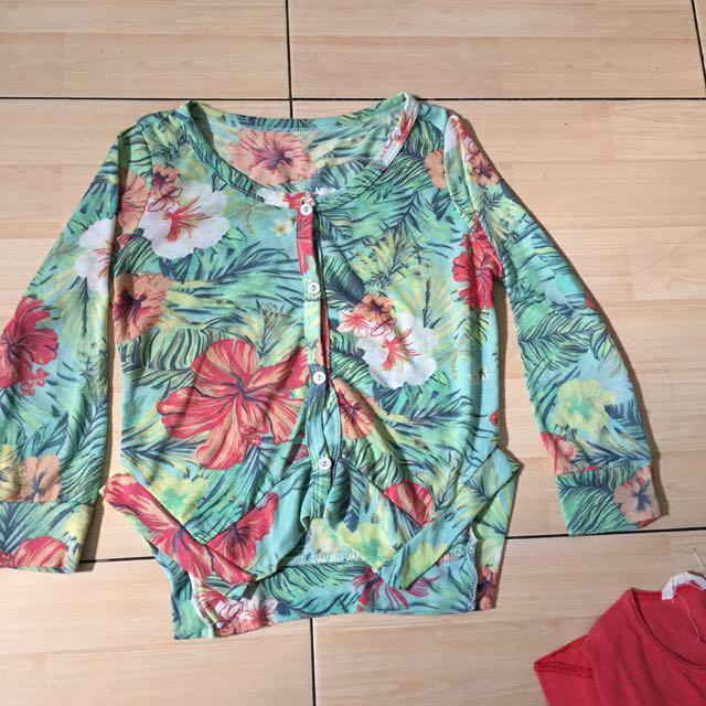 tropical cardigan