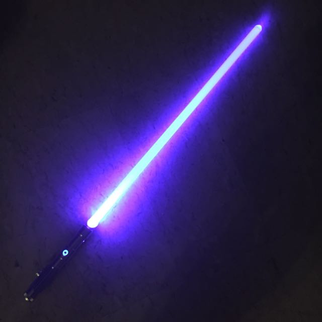 ultra sabers prophecy v3 with obsidian lite sound lightsaber light