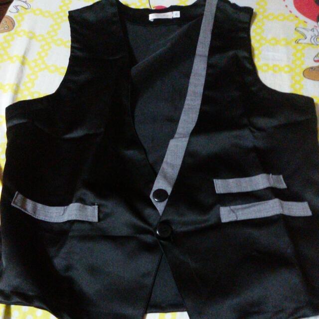 UNBRANDED_Tuxedo Vest