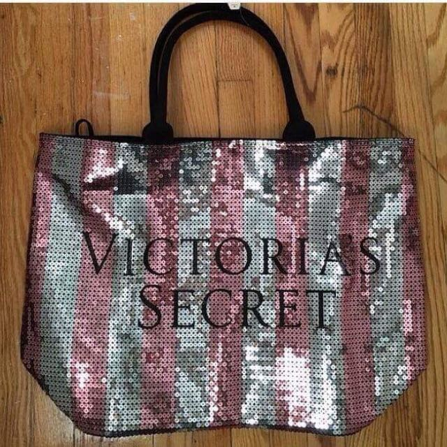 Victoria's Secret Ultimate Sequin Tote Bag