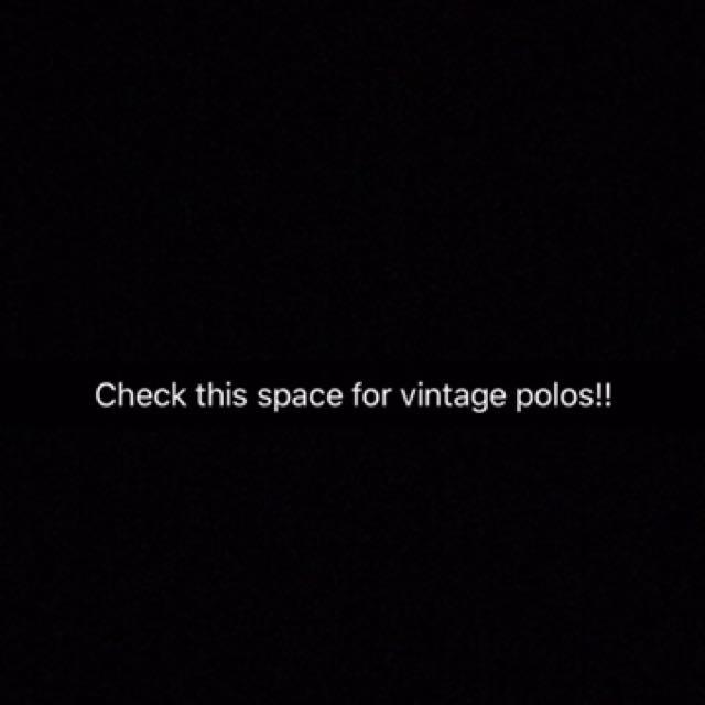 Vintage Ralph Lauren, Burberry Etc