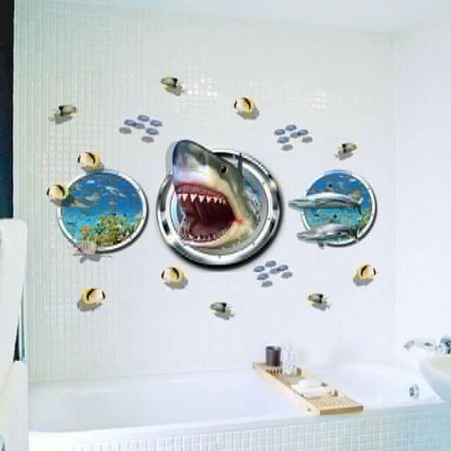 wall and floor vinyl sticker
