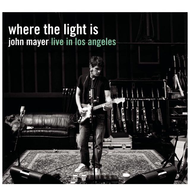 Where The Light Is John Mayer Live Album CD