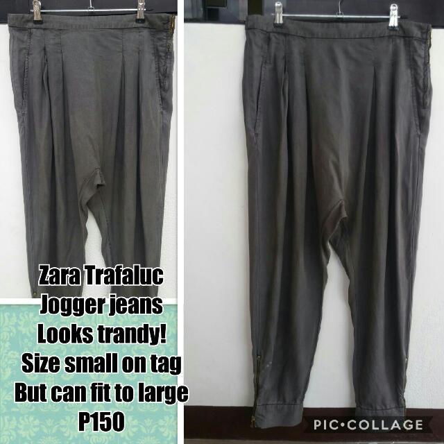 Zara Trafaluc Jogger Jeans