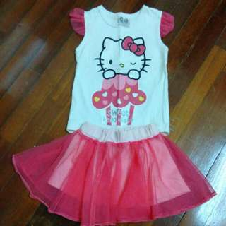 Hello Kitty 1y Set