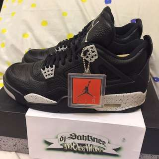(US9) Air Jordan IV 'Oreo'