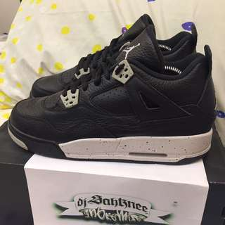 (US7Y) Air Jordan IV 'Oreo'