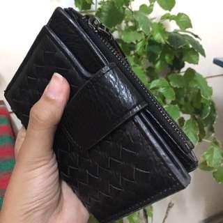 Bi-fold leather  Women's Wallet