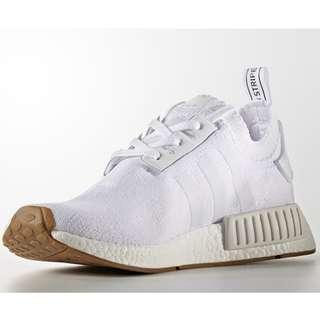 Adidas NMD R1 White Gum Primeknit