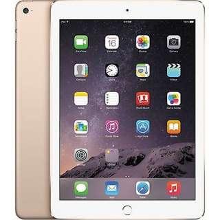 Apple iPad Air 2 Wifi Plus Cellular 4G GSM Unlocked - 16gb Gold