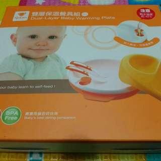 幼兒雙層保溫餐具組
