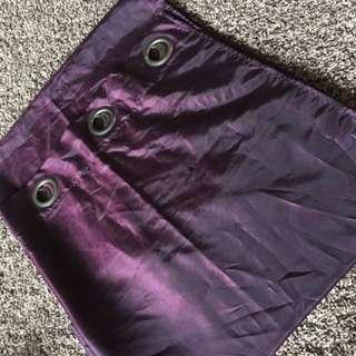 Dark Purple Curtains